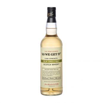 As we get it 60.6% Islay Single Malt Scotch Whisky 70cl
