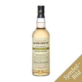 As we get it 58.9% Islay Single Malt Scotch Whisky 70cl