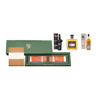 Balik & Glen Fahrn Discovery Sjomga & Scottish Whisky Set Single Cask