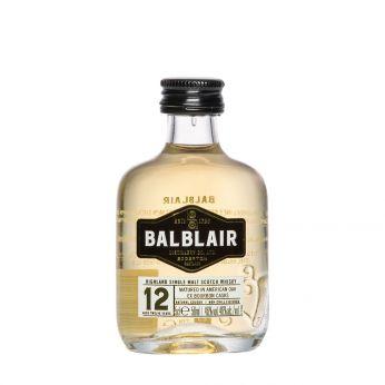 Balblair 12y Miniature Single Malt Scotch Whisky 5cl