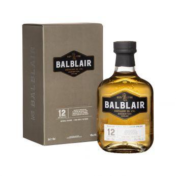 Balblair 12y Single Malt Scotch Whisky 70cl