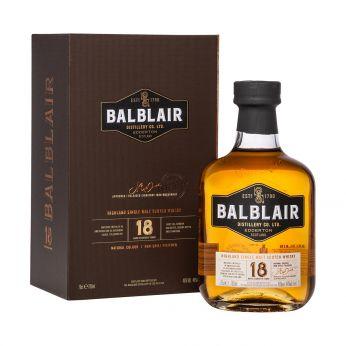 Balblair 18y Single Malt Scotch Whisky 70cl