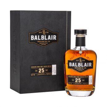 Balblair 25y Single Malt Scotch Whisky 70cl