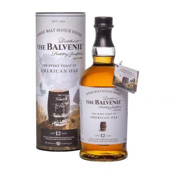 Balvenie 12y The Sweet Toast of American Oak Single Malt Scotch Whisky 70cl