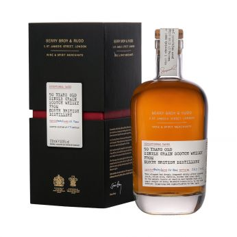 North British 50y bot.2012 Cask#90592/90593 Exceptional Casks Berry Bros. & Rudd 70cl