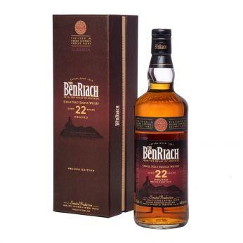 BenRiach 22y Albariza Peated 2nd Edition PX Sherry Finish Single Malt Scotch Whisky 70cl