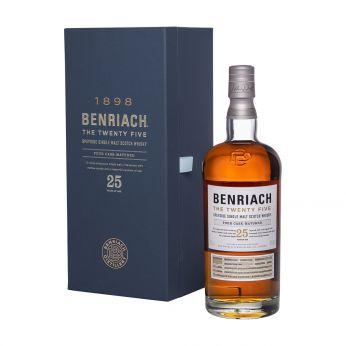 BenRiach 25y Four Cask Matured Single Malt Scotch Whisky 70cl