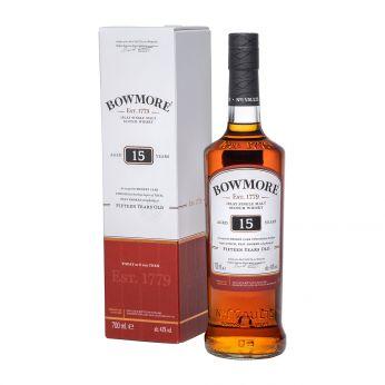 Bowmore 15y Islay Single Malt Scotch Whisky 70cl