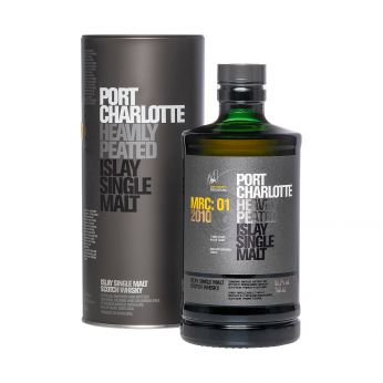 Bruichladdich Port Charlotte 2010 7y MRC:01 Islay Single Malt Whisky 70cl