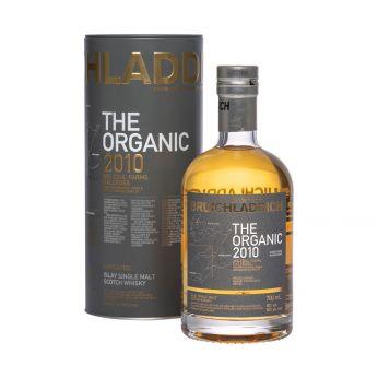 Bruichladdich 2010 The Organic Islay Single Malt Scotch Whisky 70cl