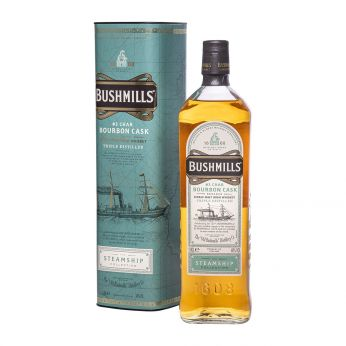 Bushmills #3 Char Bourbon Cask Reserve The Steamship Collection Single Malt Irish Whiskey 100cl