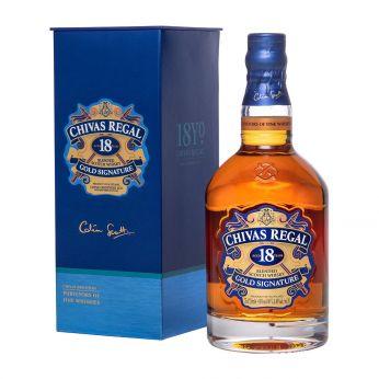 Chivas Regal 18y Gold Signature Blended Scotch Whisky 75cl