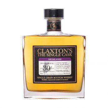 Invergordon 1990 30y Cask#2094-35726 Claxton's Single Grain Scotch Whisky 70cl