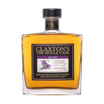 FoG-2S Tobermory 1995 25y Cask#2092-542a Claxton's Single Malt Scotch Whisky 70cl