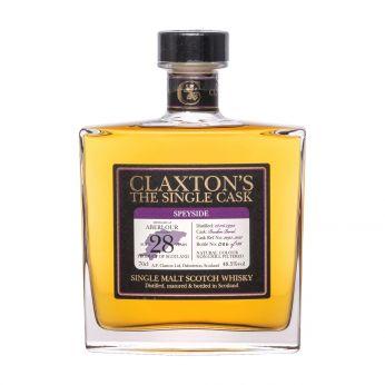Aberlour 1992 28y Cask#2093-3037 Claxton's Single Malt Scotch Whisky 70cl