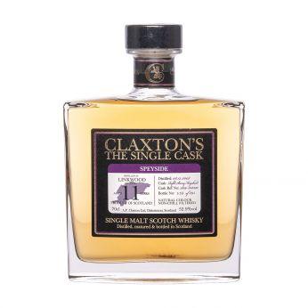 Linkwood 2008 11y Cask#2109-308320 Claxton's Single Malt Scotch Whisky 70cl