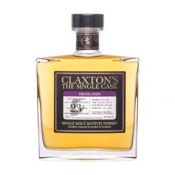 Inchmurrin 1997 23y Cask#2106-290 Claxton's Single Malt Scotch Whisky 70cl