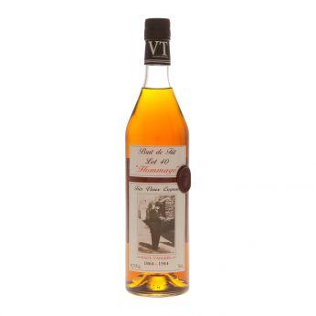Vallein-Tercinier Lot 40 Hommage Cask#82 Brut de Fut Tres Vieux Cognac Bons Bois 70cl