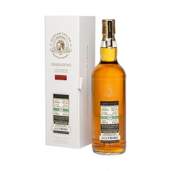 Aultmore 2008 12y Cask#95900330 Sherry Dimensions Collection Duncan Taylor 70cl