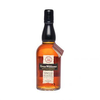 Evan Williams Single Barrel Vintage Kentucky Straight Bourbon Whiskey 70cl