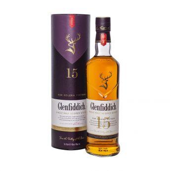 Glenfiddich 15y Solera Reserve Single Malt Scotch Whisky 70cl