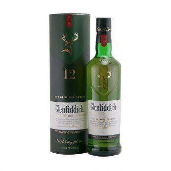 Glenfiddich 12y Single Malt Scotch Whisky 70cl