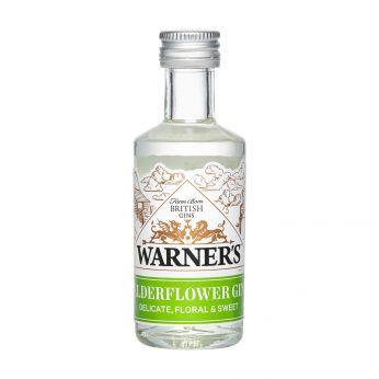Warner's Elderflower Gin Miniature 5cl