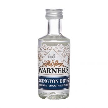 Warner's Harrington Dry Gin Miniature 5cl
