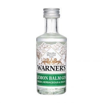 Warner's Lemon Balm Gin Miniature 5cl