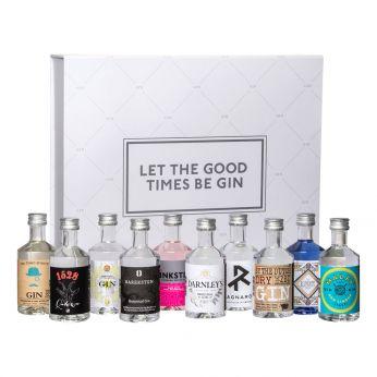 The Gin Box World Gin Tour 10x5cl