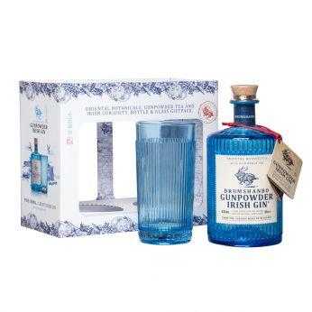 Drumshanbo Gunpowder Irish Gin Geschenkpackung mit Glas 50cl