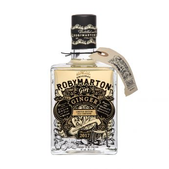 Roby Marton Ginger Single Botanical Gin 50cl