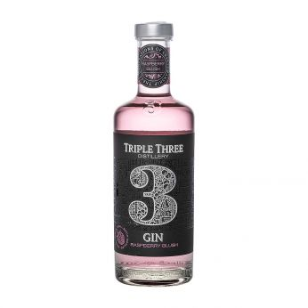 Triple Three Gin Raspberry Blush 50cl