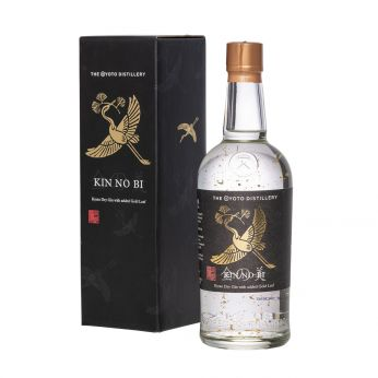 KIN NO BI Kyoto Dry Gin with added Gold Leaf 70cl