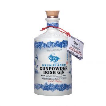 Drumshanbo Gunpowder Irish Gin Ceramic Collector's Bottle 70cl