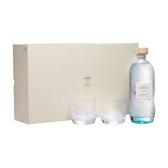 Isle of Harris Gin Geschenkpackung mit 2 Gläsern 70cl