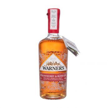 Warner's Strawberry & Rose Gin 70cl
