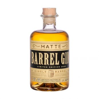 Matte Barrel Gin Limited Edition 2020 50cl