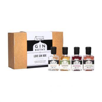 Gin Bothy Love Gin Miniature Box 4x5cl