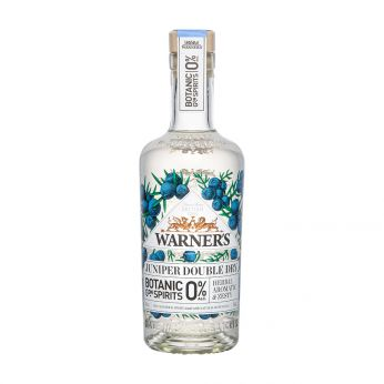 Warner's 0% Juniper Double Dry Botanic Garden Spirits alkoholfrei 50cl