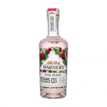 Warner's 0% Pink Berry Botanic Garden Spirits Alkoholfrei 50cl