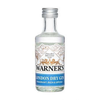 Warner's London Dry Gin Miniature 5cl