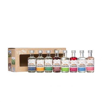 Warner's Gin Rainbow Miniature Set 8x5cl