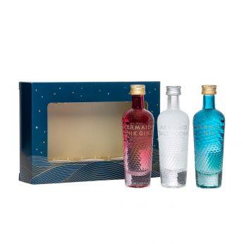 Mermaid Miniature Set Isle of Wight Small Batch Spirits 3x5cl