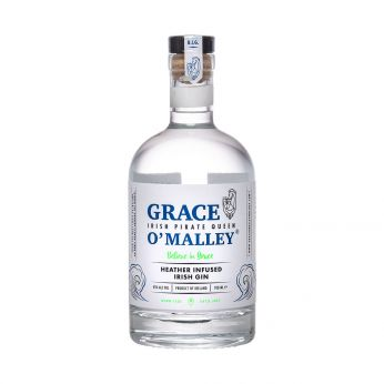 Grace O'Malley Heather Infused Irish Gin 70cl