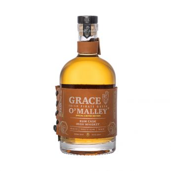 Grace O'Malley Rum Cask Special Limited Edition Blended Irish Whiskey 70cl