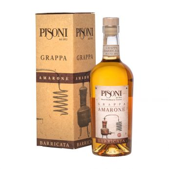 Pisoni Grappa Barricata Amarone 70cl