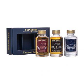 Castagner Set Emozioni Italiane Leon Amarone, Leon Prosecco, Leon 3 anni 3x10cl