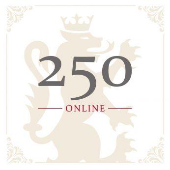 Geschenkgutschein Online CHF 250.-
