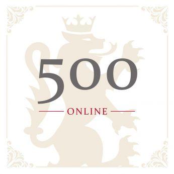 Geschenkgutschein Online CHF 500.-